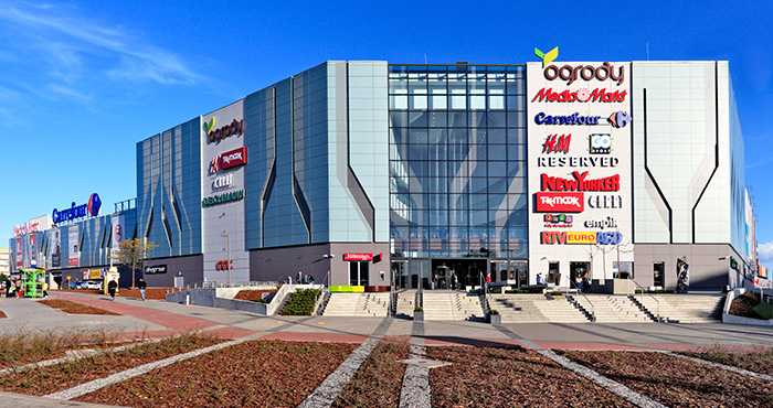Acteeum finalized the Ogrody Shopping Center redevelopment.