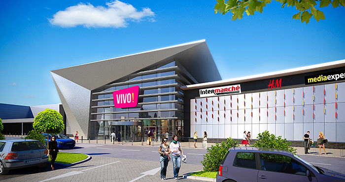 b6b4fcb48eba0 Topping out ceremony of the VIVO! Krosno shopping center