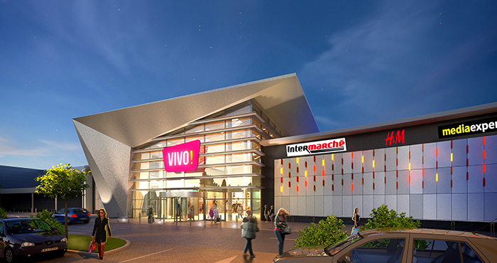 Successful opening of VIVO! Stalowa Wola shopping center.