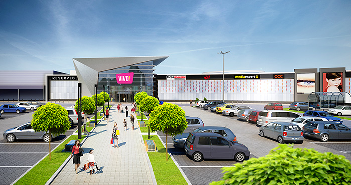 Acteeum Group will build with Immofinanz Group another VIVO! shopping center.
