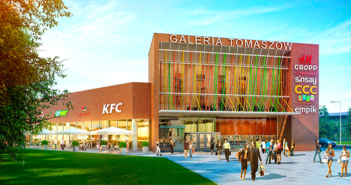 Acteeum Group and Van der Vorm Vastgoed jointly invest in shopping center development in Poland.
