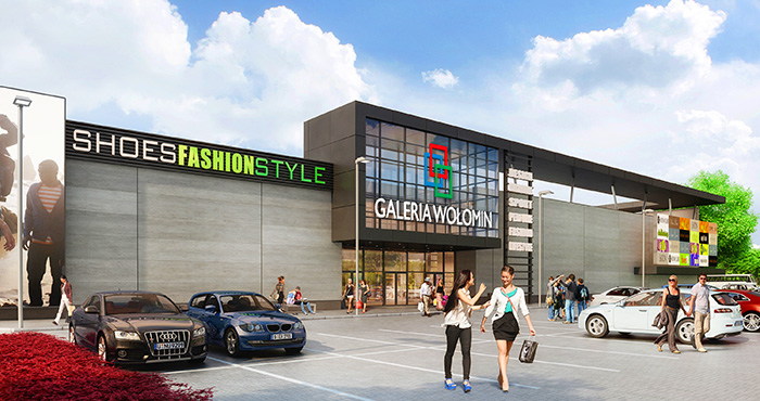 Rockcastle Global Real Estate Company Limited and Acteeum Group purchase Galeria Wolomin.